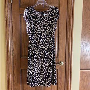 NWT Giraffe style print dress, size 16